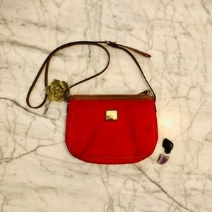Ralph Lauren Red Crossbody Purse